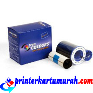 Ribbon Color YMCKO Zebra P110i dan P120i