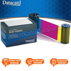 Ribbon Color YMCKT Datacard CD800