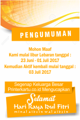 Printer Kartu ID Card Murah